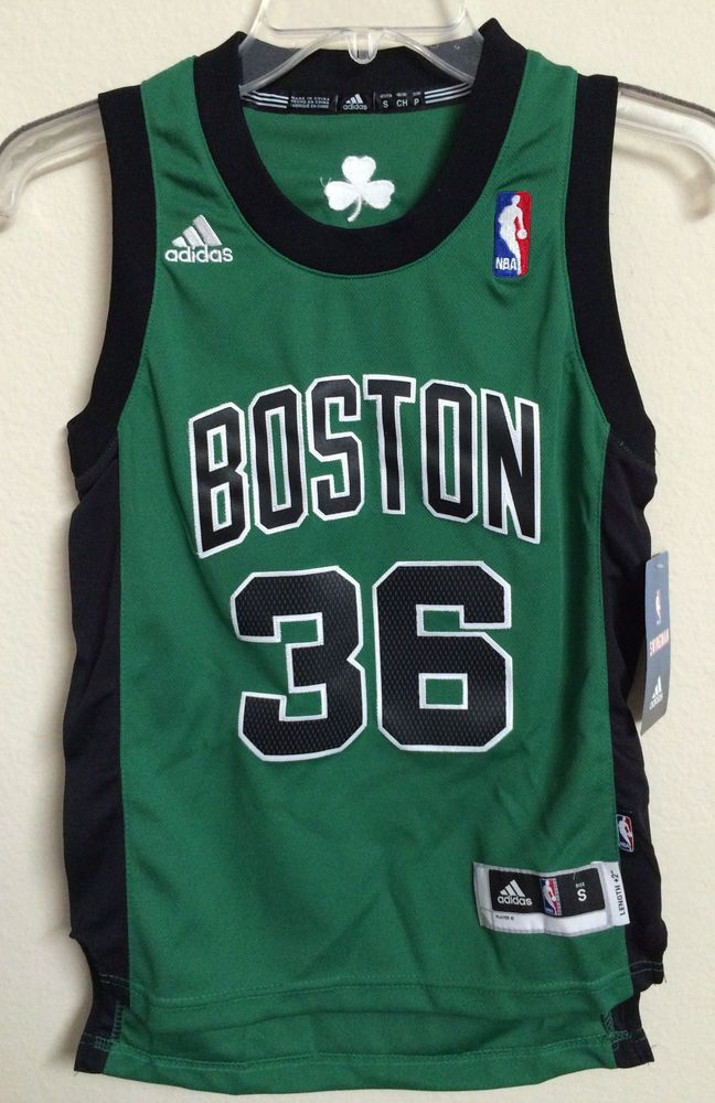 df9510815 YOUTH SMALL ADIDAS SWINGMAN NBA BOSTON CELTICS SHAMROCK  36 SHAQ O NEAL  JERSEY