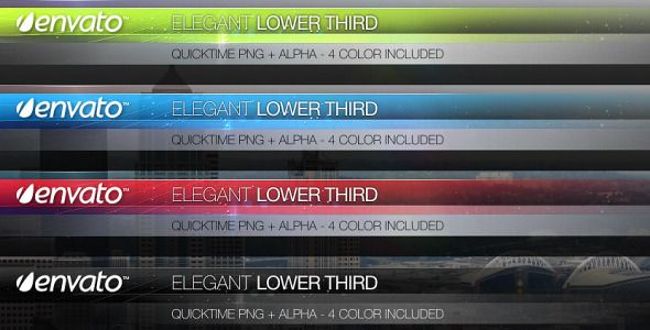 Motion Graphics - Elegant Lower Third | VideoHive