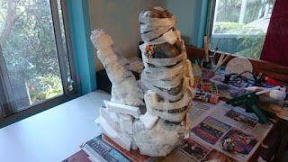 Une tête de T-Rex faite maison [Cosplay Dinosaures DIY insolite Maquette]