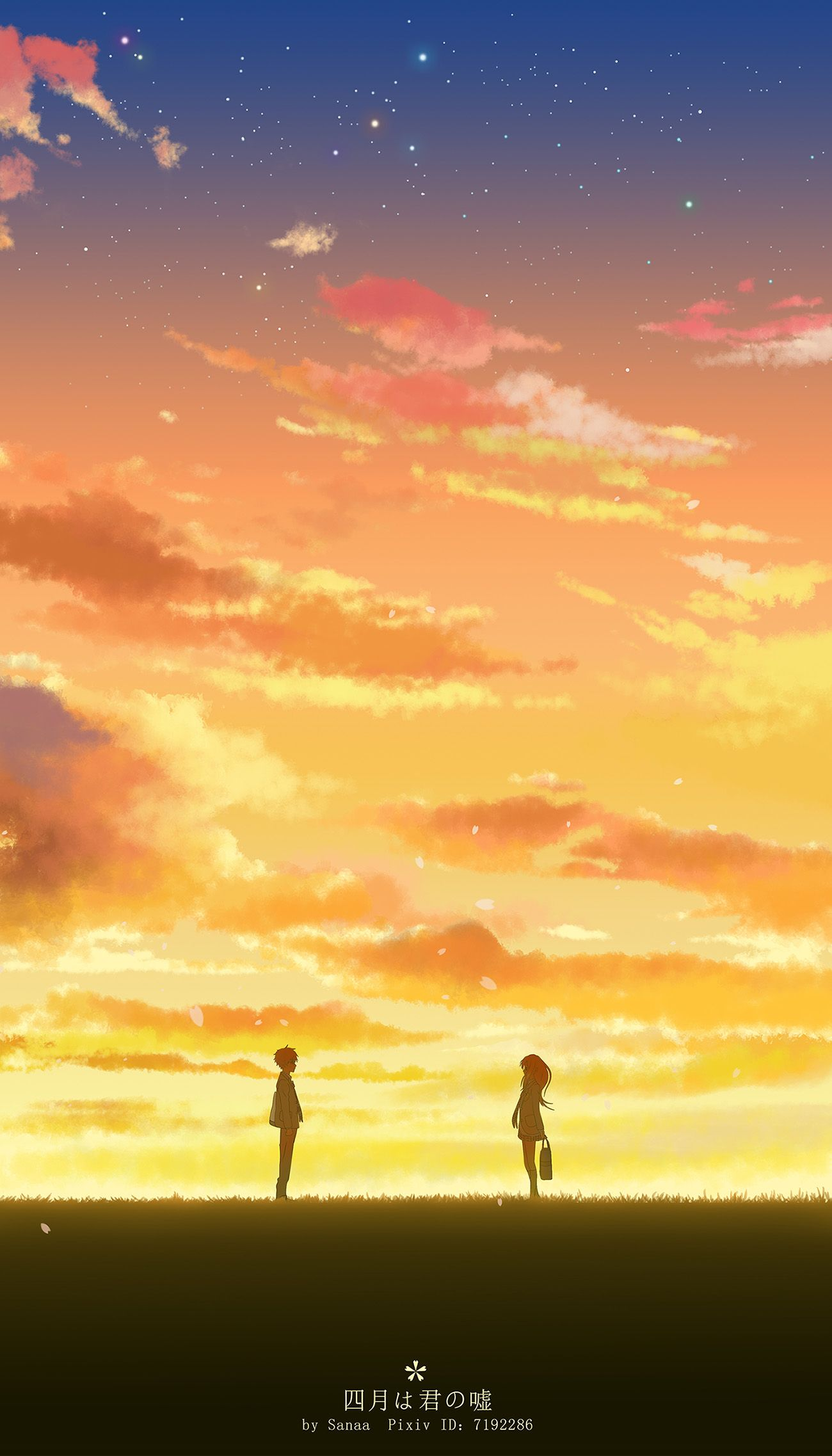 i just finished Your Lie in April...i've never cried this