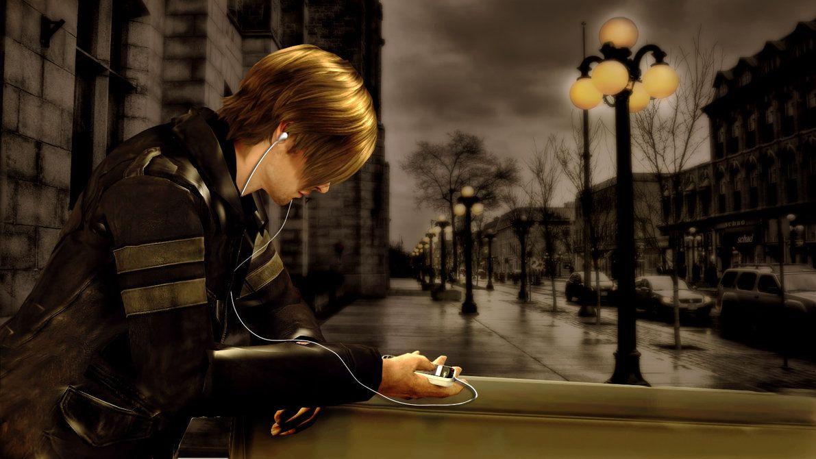 ipod series- Leon by kaka07165 on DeviantArt