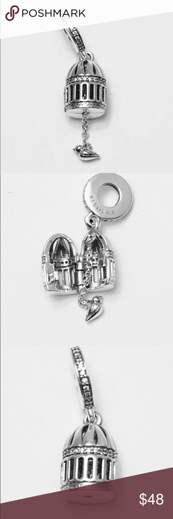 Authentic Pandora Free As A Bird Charm Bird Charm Pandora Free Pandora Jewelry