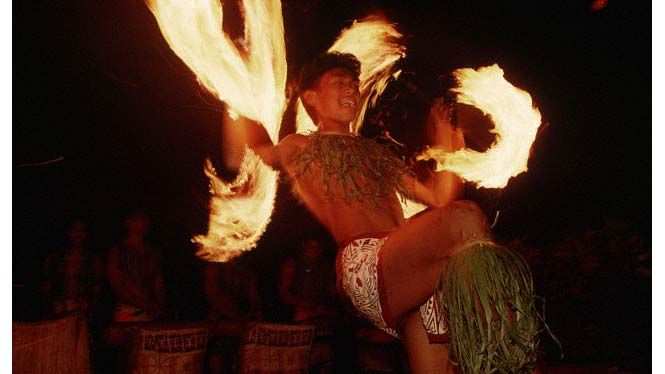 Samoan Firedance makes your jaw drop in amazement. #DeltaDental