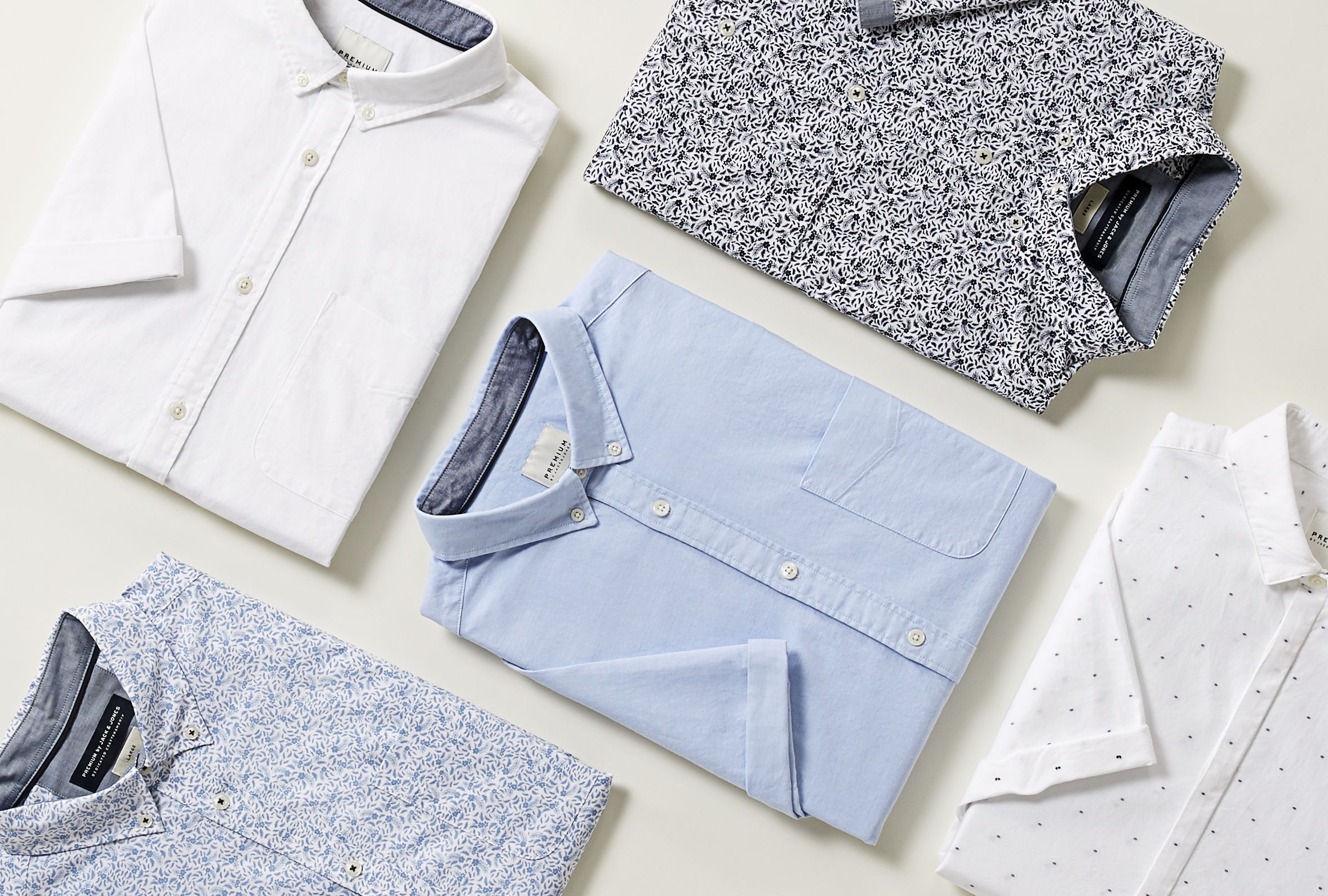 S/S Shirts focus Premium by Jack & Jones
