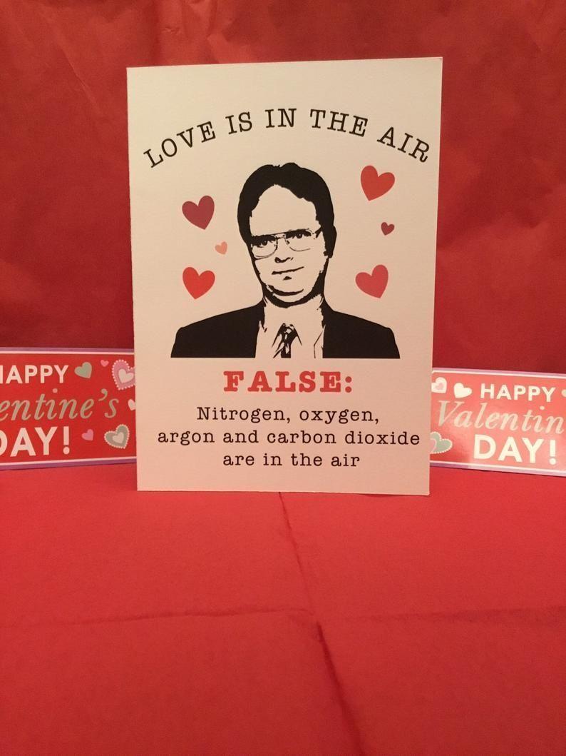 Die Buro Valentinstagkarten Dwight Karten Tag Dwight Office Valentines Das Buro Valentinstag The Office Valentines Funny Valentines Cards Office Cards