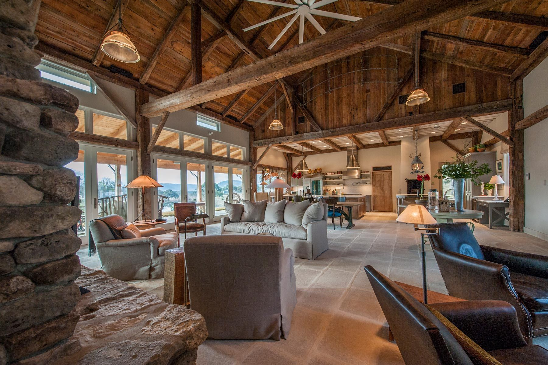 Charming Pole Barn House Interior Gallery - Best idea home design ...