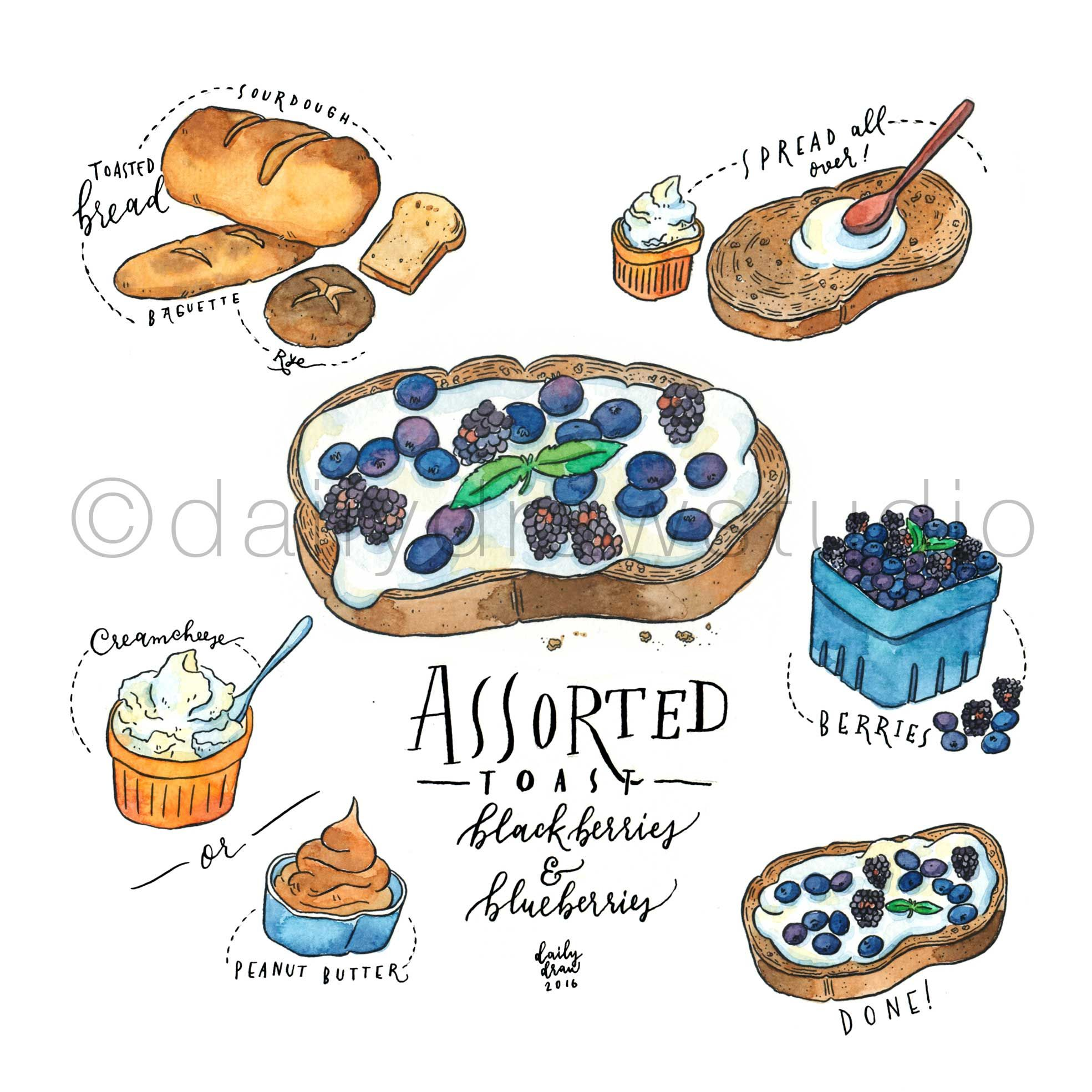 Pin By 𝘍𝘭𝘰𝘳𝘤𝘪𝘵𝘢 𝘋𝘦 𝘈𝘮𝘢𝘱𝘰𝘭𝘢 On My Watercolour Works Food Drawing Watercolor Food Recipe Drawing