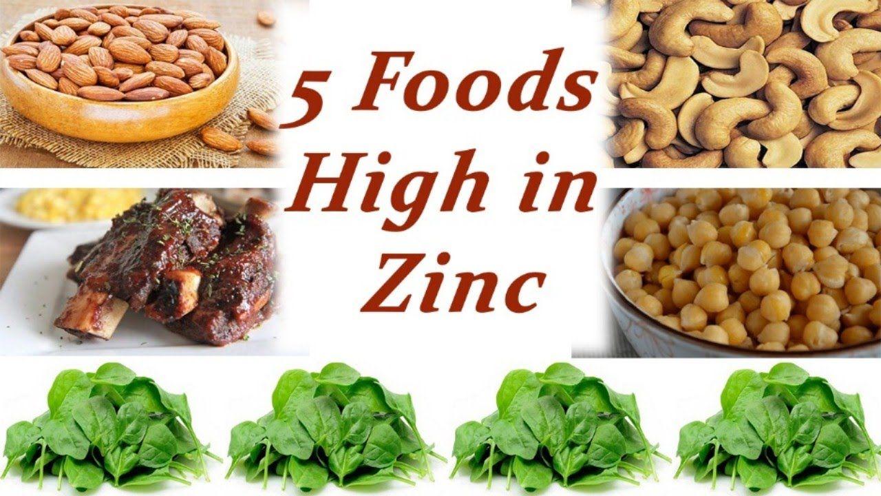 Top Five Foods High in Zinc Foods high in zinc, Foods