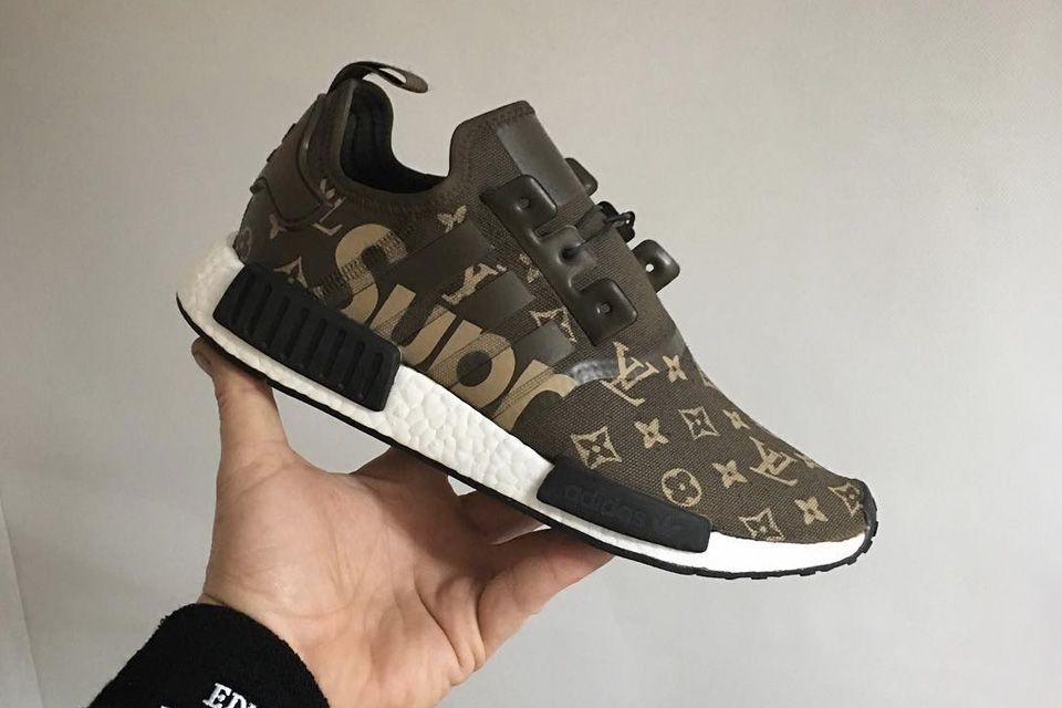 Ever wondered what a Supreme x Louis Vuitton x adidas NMD_R1 sneaker would  look like?