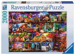 Travel Shelves, 2000pc   Adult Puzzles   Puzzles   Products   UK   ravensburger.com
