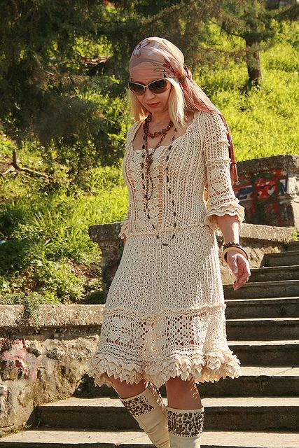 Ravelry: Jennica's Hippie dress