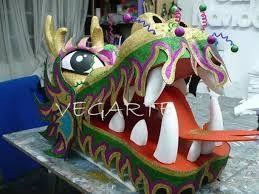 cabeza de dragon chino - Buscar con Google
