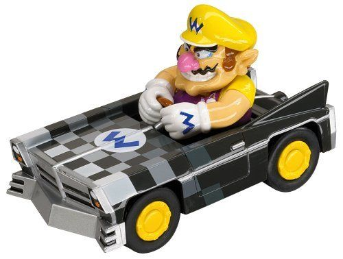 Mariokart Ds Pull Speed 4 Race Car Wario Brute Model 19302