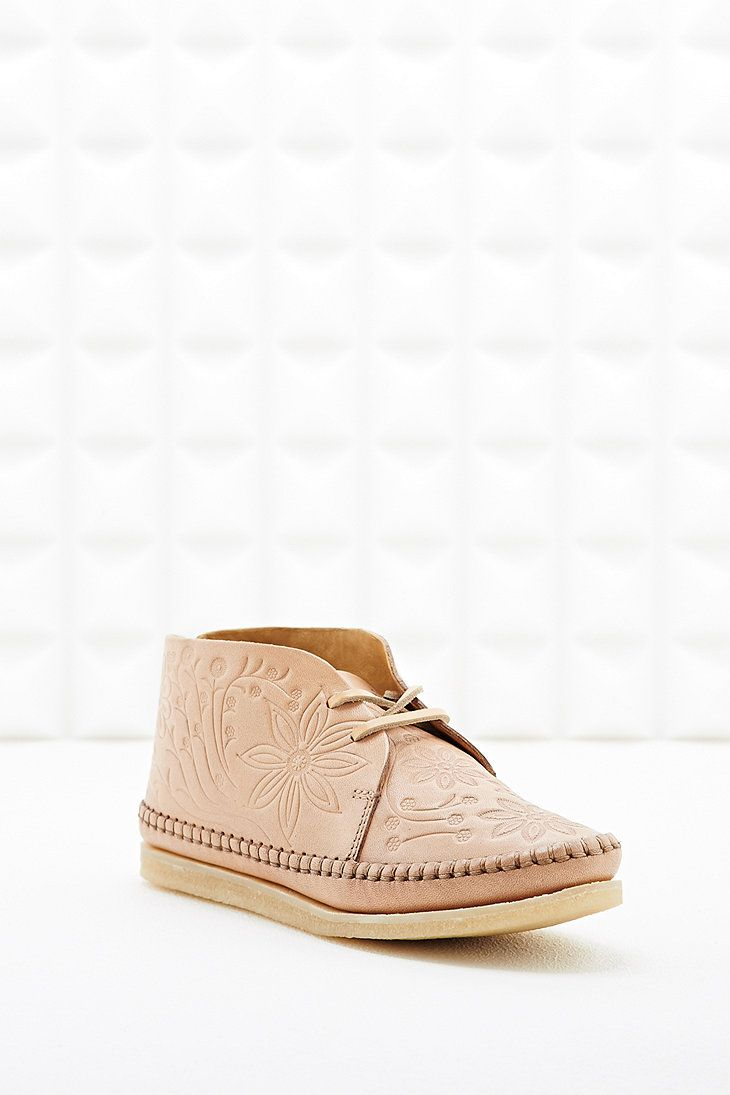 a0bb7880c58 Clarks Originals X YMC Embossed Desert Boot in Tan