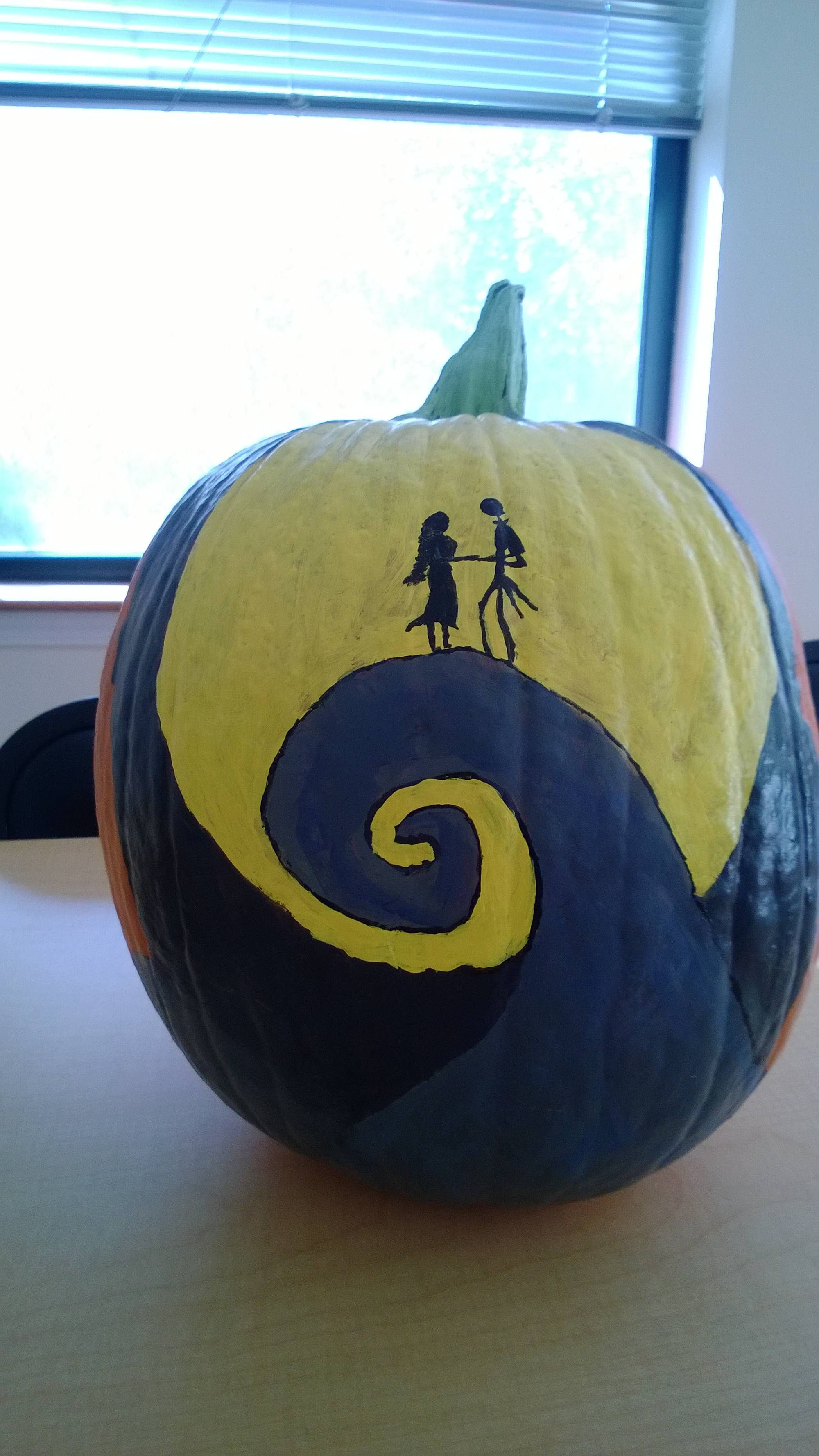 Do you guys like my painted pumpkin? Getting into the