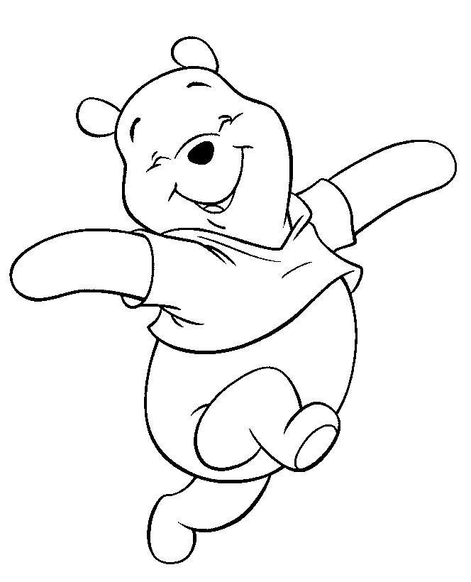 coloring pages baby pooh winnie the pooh coloring pages piglet is a fictional character from a milnes winnie the pooh books - Cartoon Pictures To Colour In