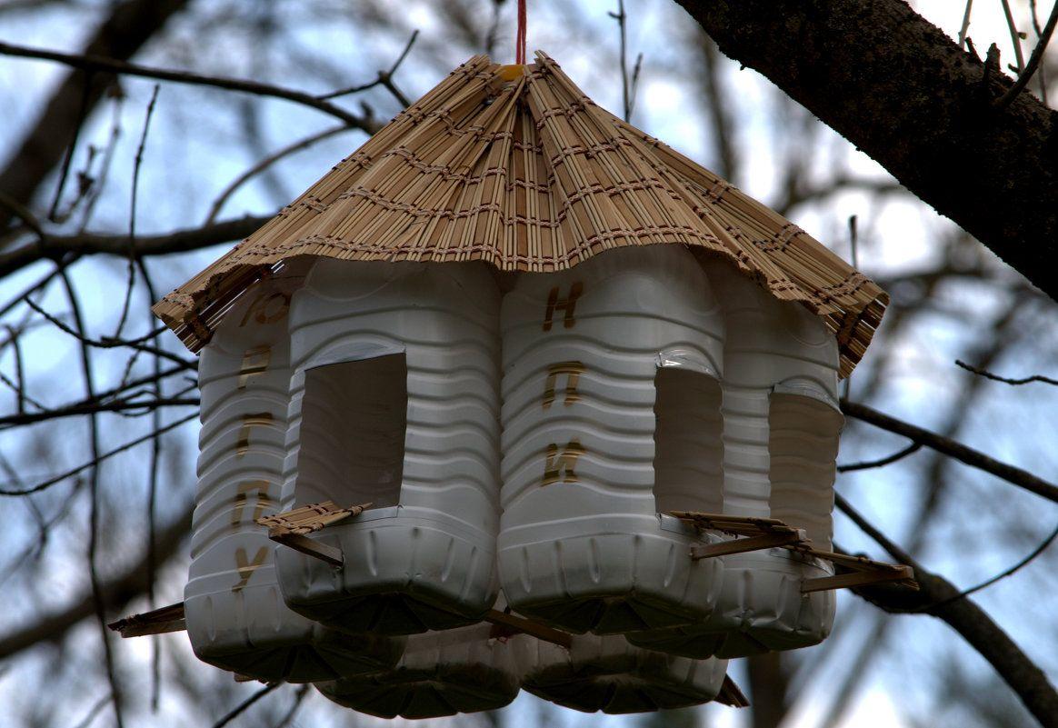 скворечники для птиц своими руками фото из подручных средств украшают