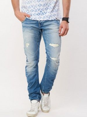 0c6eba26a VOI JEANS Ripped Twisted Fit Skinny Denims now in india by koovs.com ...
