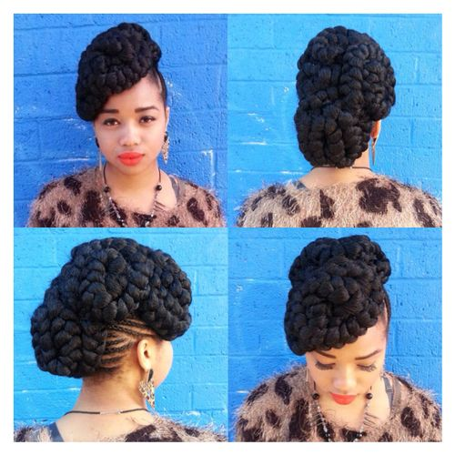 Fine 1000 Images About Senegalese Styles On Pinterest Protective Short Hairstyles For Black Women Fulllsitofus