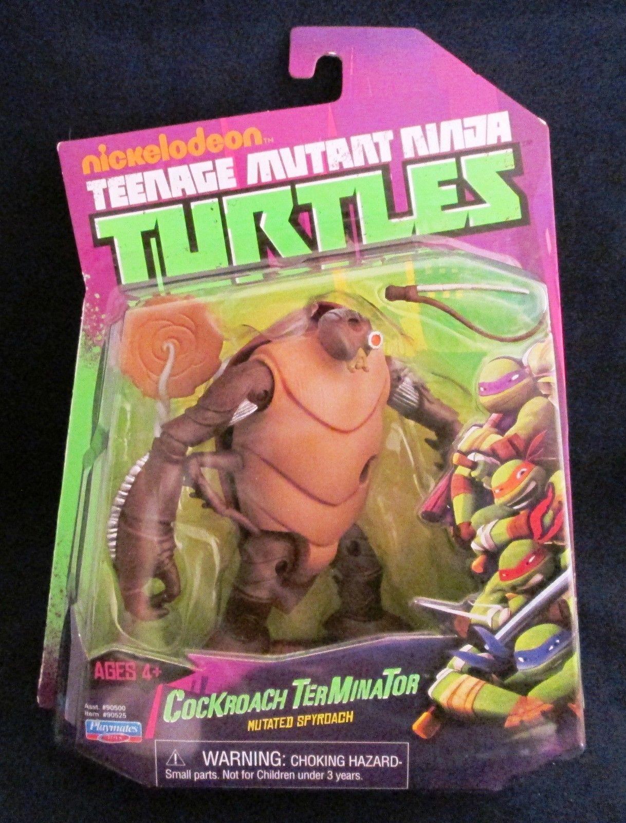 Teenage Mutant Ninja Turtles Nickelodeon Cockroach Terminator Figure TMNT