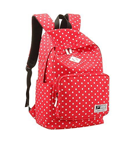 533097626b8e Sweet Preppy Style Polka Dot Backpack only  30.9