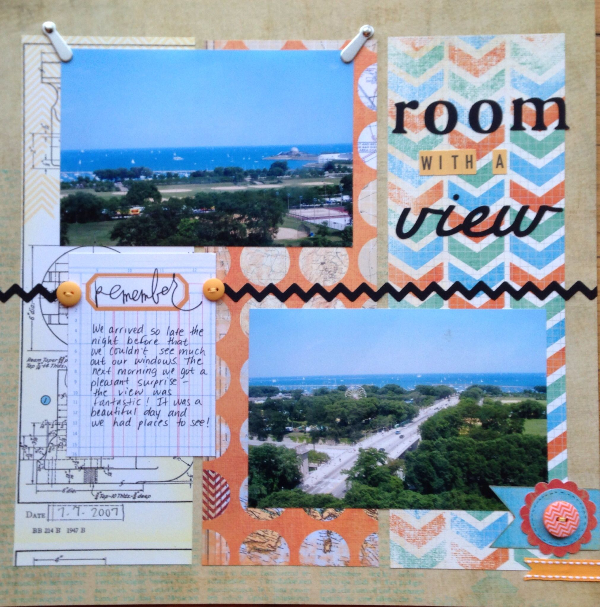 Room With A View Scrapbook Com Outdoors Scrapbook Layouts Vacation Scrapbook Photo Scrapbook
