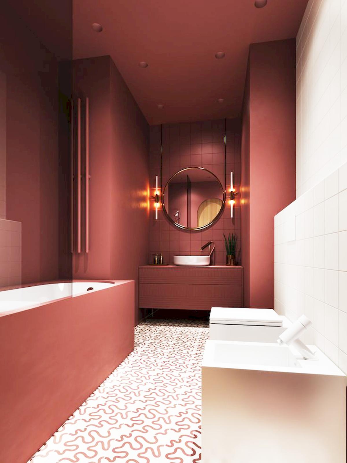 Current Tile Trends Bathroom