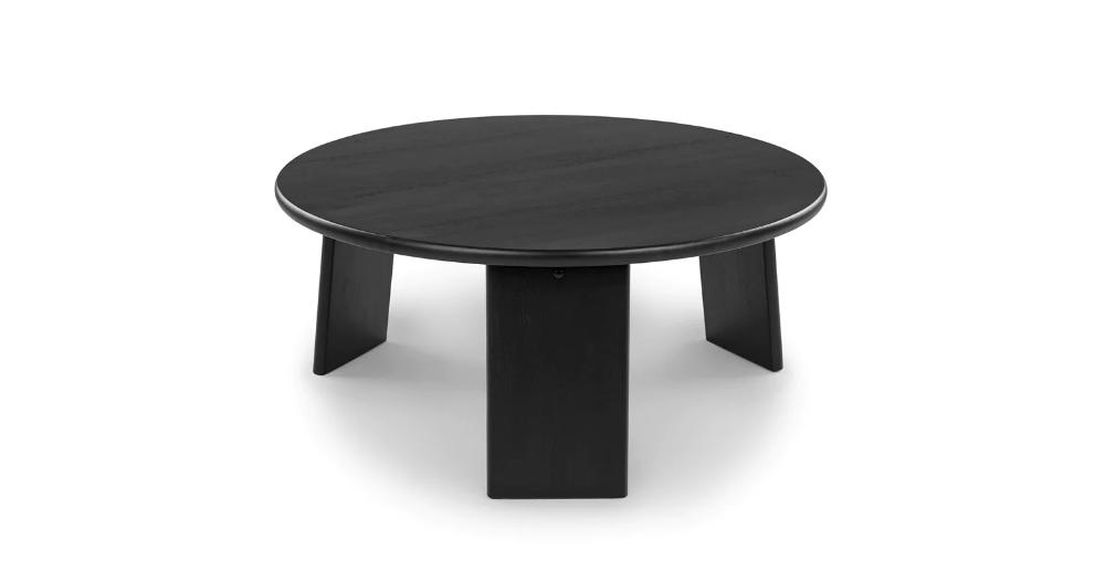 Uddo Black Ash Coffee Table In 2020 Modern Coffee Tables Walnut