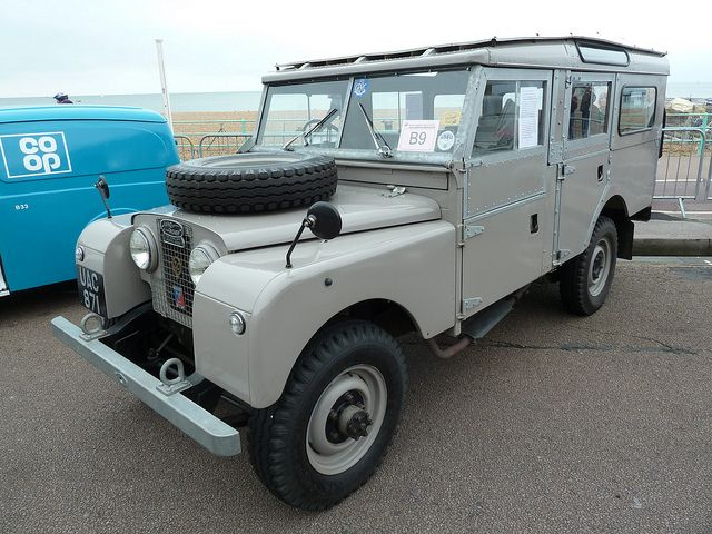 "UAC 871 - 1956 Land Rover Series I - 107"" Station Wagon by homer----simpson, via Flickr"