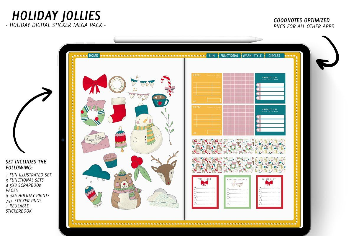 Download Digital planner, digital planning, goodnotes, notability ...