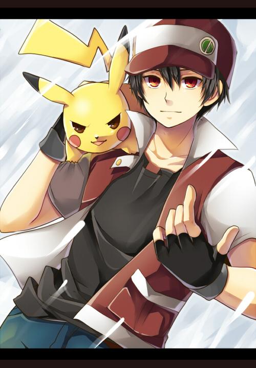 Pokemon Trainer Red Pokemon Red Pokemon Firered Pokemon