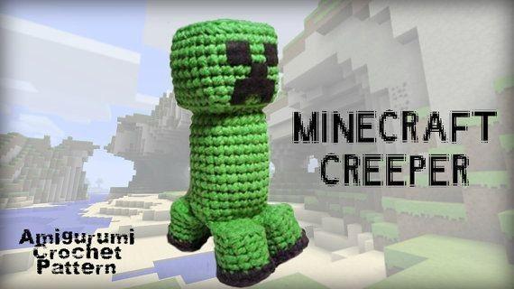 Homemade Minecraft Creeper Amigurumi Crochet Pattern Crochet