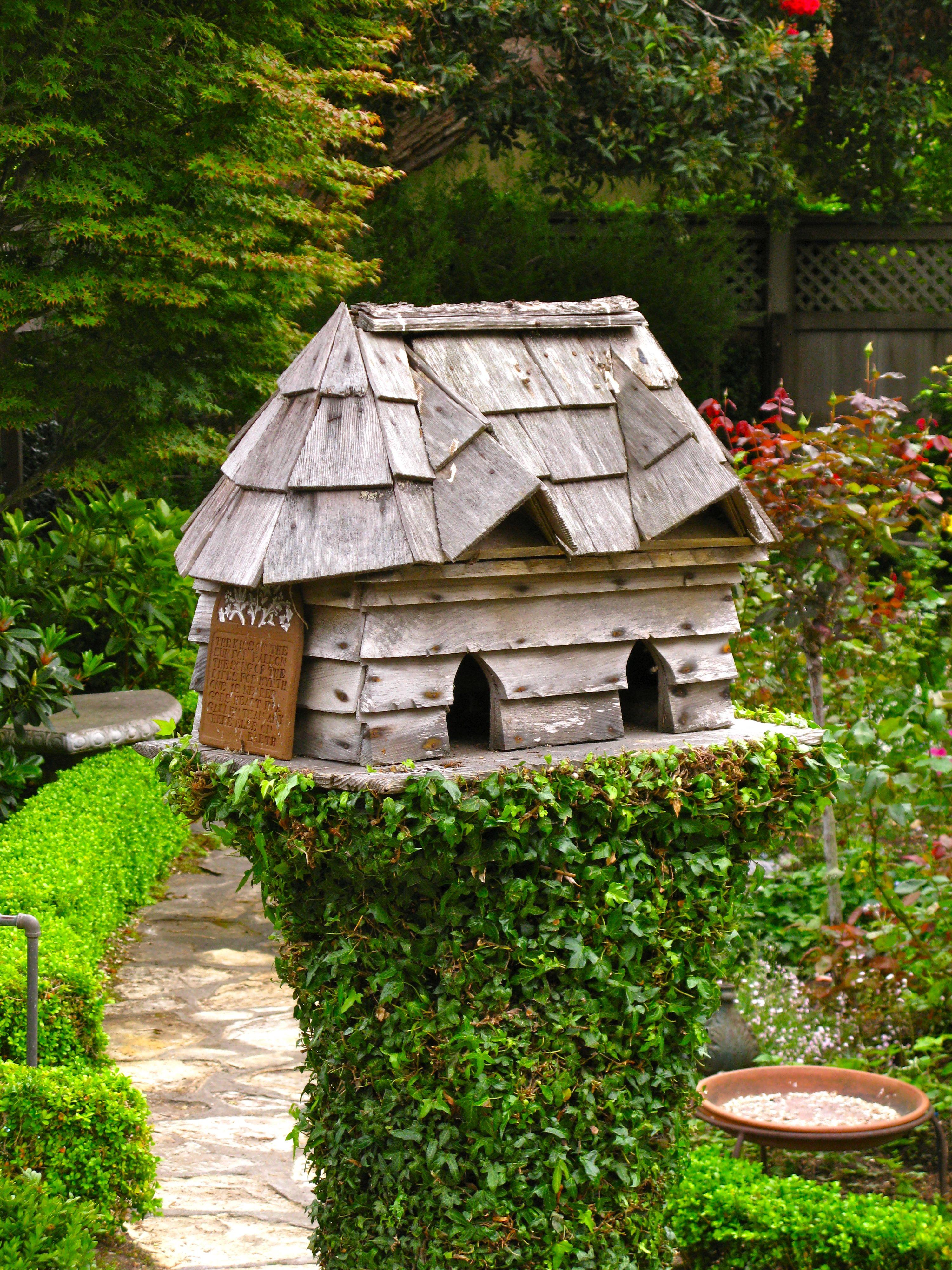 Birdhouse Rustic Birdhouses Bird Houses Fairy Houses Birds