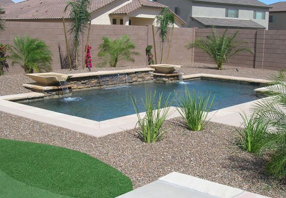 Swimming pool water feature designs swimming pool for Swimming pool water features