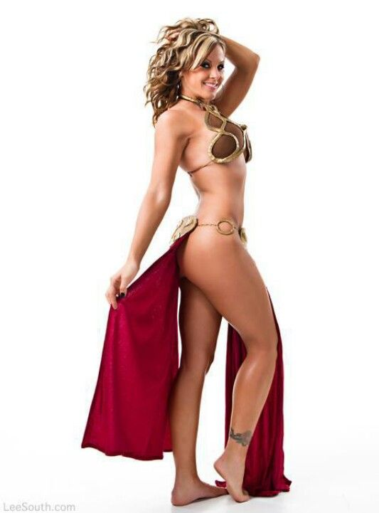 princess leia slave costumes naked