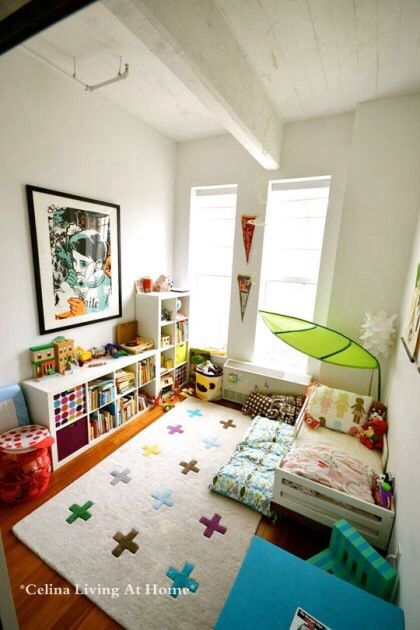 Kids Bedroom Library oeuf mini library with ikea furniture | kid's room | pinterest