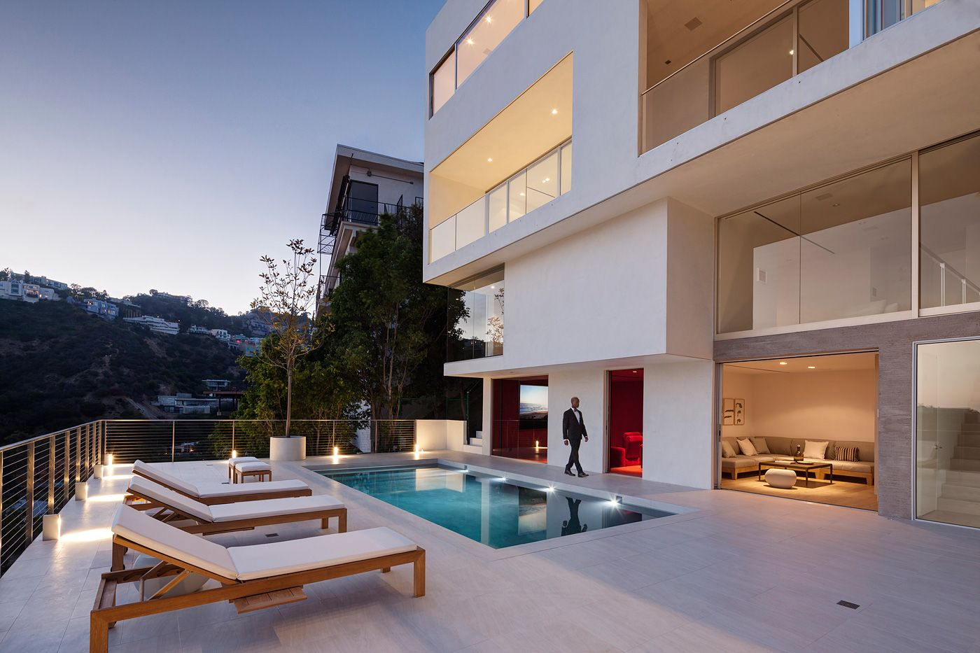 Haus am Sunset Plaza Drive in West Hollywood, Los Angeles | Haus ...