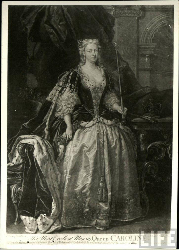 Caroline Wilhelmina of Brandenburg-Ansbach after John