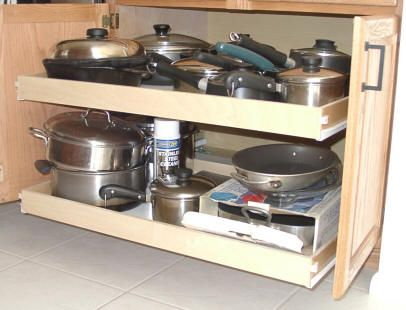 Kitchen Cabinet Pull Out Organizers | Here Are Some Great Places To Buy  Pullout Sliding Shelving