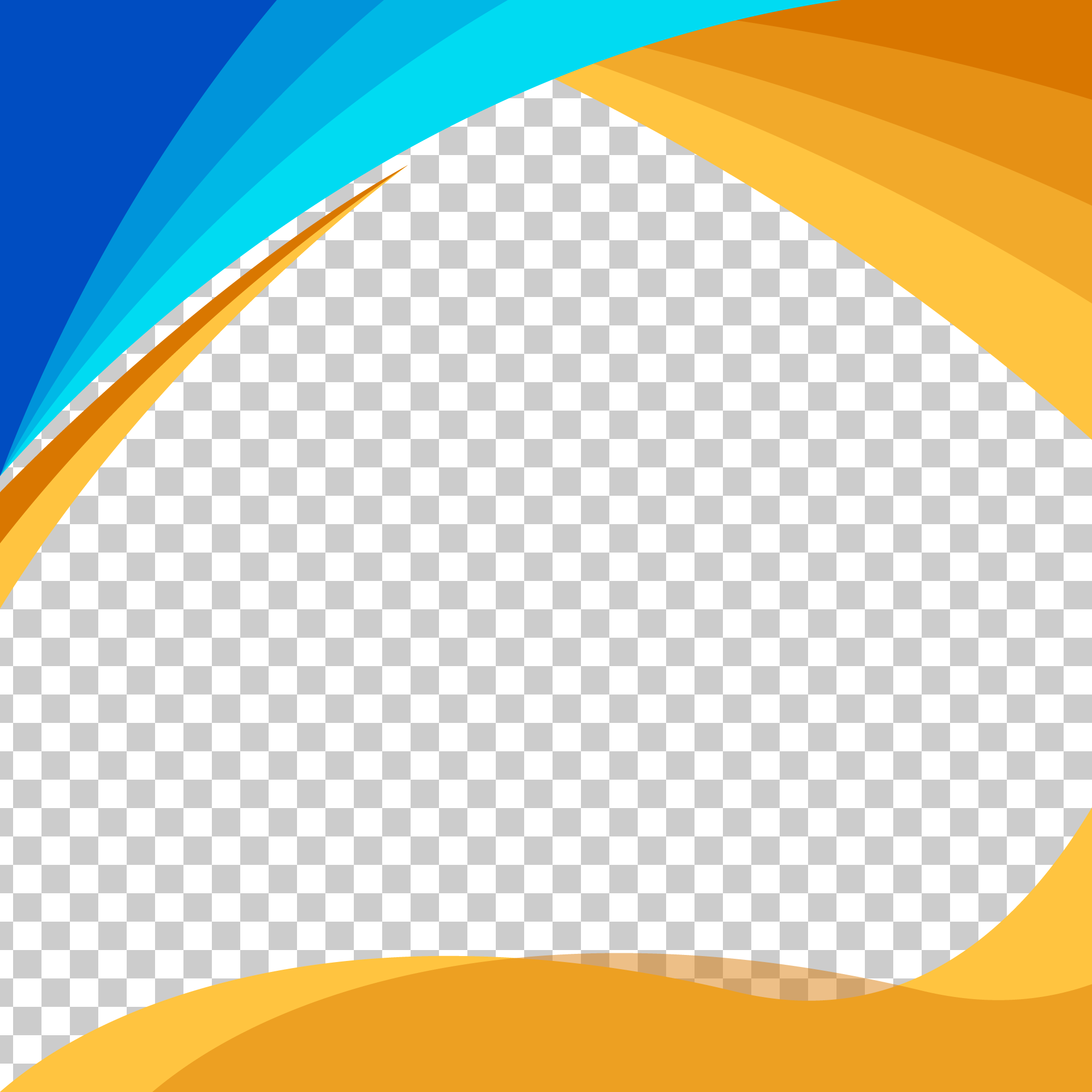 Blue And Orange Wavy Shapes On Transparent Background Curved Background Abstract Wavy Png And Vector With Transparent Background For Free Download Transparent Background Geometric Background Abstract Backgrounds