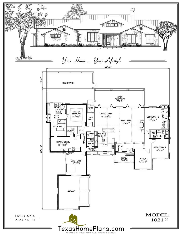 Texas Home Plans Texas Ranch Homes Page 42 43 Texas Ranch Homes Ranch House Texas Ranch