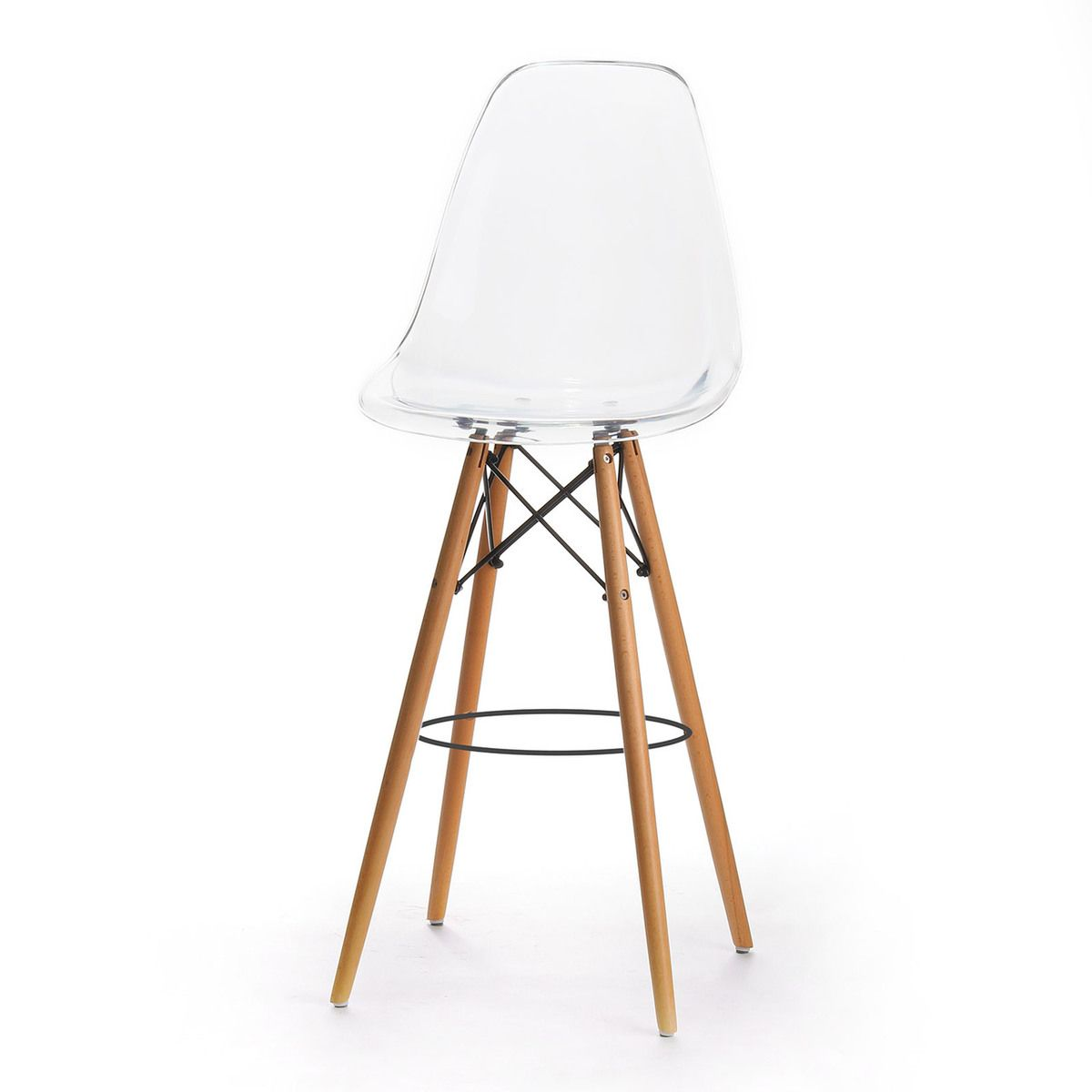 Charles Eames Style Dsw Bar Stool Clear Acrylic Bar Stools