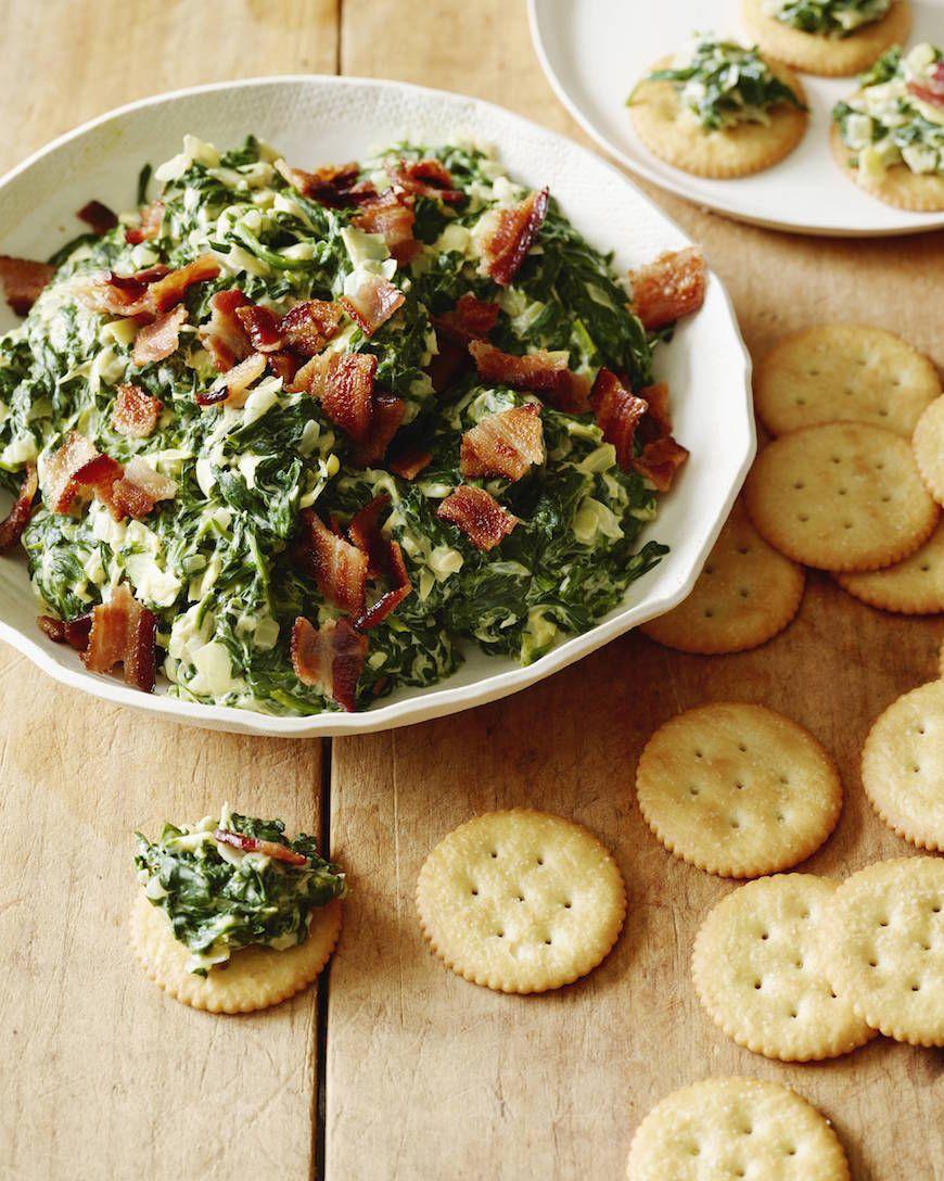 Spinach Bacon Artichoke Dip #HomeBowlHeroContest