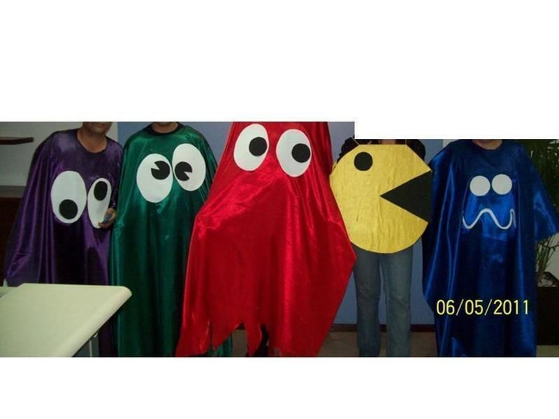 Pacman Costumes!!