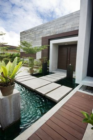 Beautifully renovated bungalow in the Seputeh area of Kuala Lumpur.