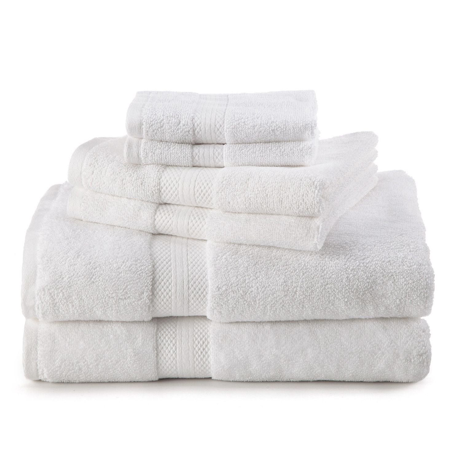 Abundance 6 Piece Towel Set Towel Set Towel Washing Clothes