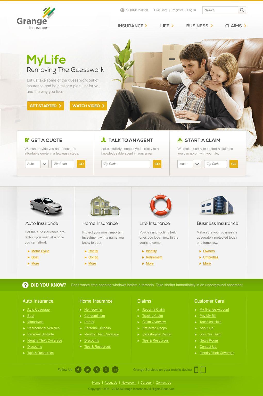 Grange Insurance Website