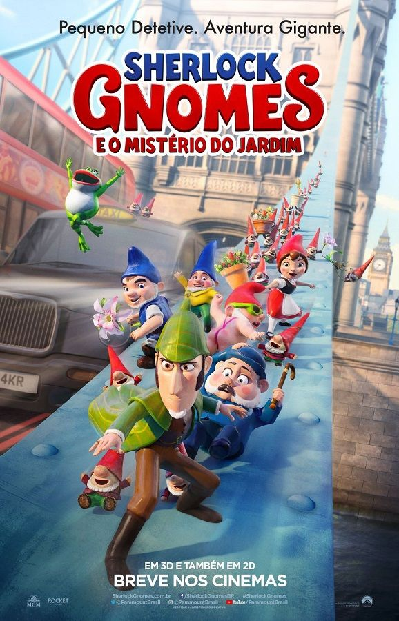Sherlock Gnomes - 2018 | Movie Time | Pinterest | Gnomes ...