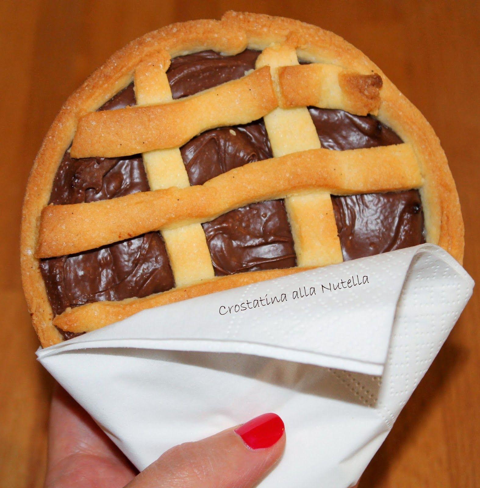 Cuor di Ciambella: Crostatine alla Nutella
