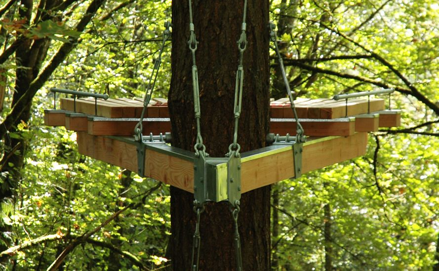 simple tree platforms. Oregon, Artist Devan Anthony Recently Completed Construction Of This Modern Treehouse That He Calls A \u0027Cantilevered Contemplation Platform. Simple Tree Platforms